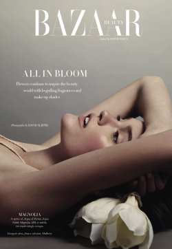 "opaqueglitter:  Katie Fogarty By David Slijper ""All In Bloom"" Harper's Bazaar UK May 2013"