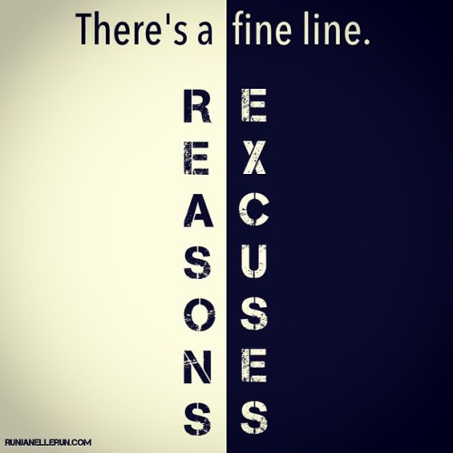 #excuses #athletes #reasons #fitblr #fitness #runners #xc #track #trackandfield #champion #fitspiration