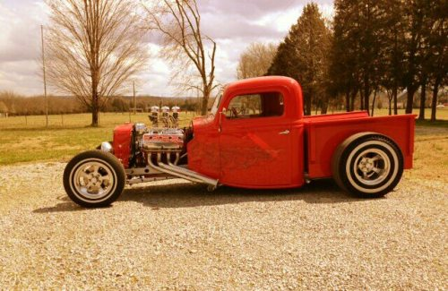 anrill:  1935 Ford Hot Rod Truck With A Hemi Engine