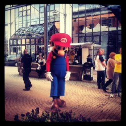 Mario got no hugs. Mario got sad ; ( fantomenk, instagram.com  This photo reflects my feelings about Nintendo and the direction they've taken since the release of the GameCube and every system prior.  #gaming #rants #wii #nintendont #nintendo #snes