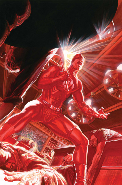 brianmichaelbendis:  Daredevil by Alex Ross