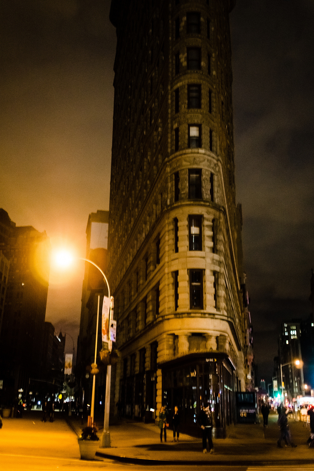 Flatiron during the Sandy blackout