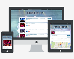 Mobile Friendly Online Ticket Store