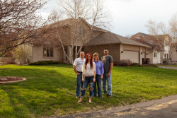 """Meet the Schoenherrs: This Woodbury, Minn., family has been selected as hosts for Fritz Haeg's 15th and final Edible Estate, a project that transforms suburban front lawns into abundant organic vegetable gardens. Challenging the symbolism of the display yard, Edible Estates ""questions the essence of what the American Dream is,"" says Haeg. ""Ultimately, the project is really way beyond lawn and way beyond food and gardens and the environment. It penetrates to the core of 'How do you want to live?'"""