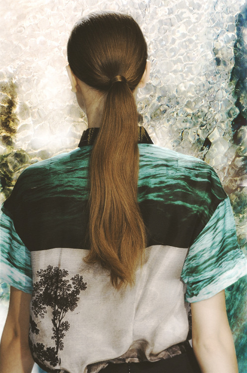 voguelovesme:  dries van noten, spring 2012