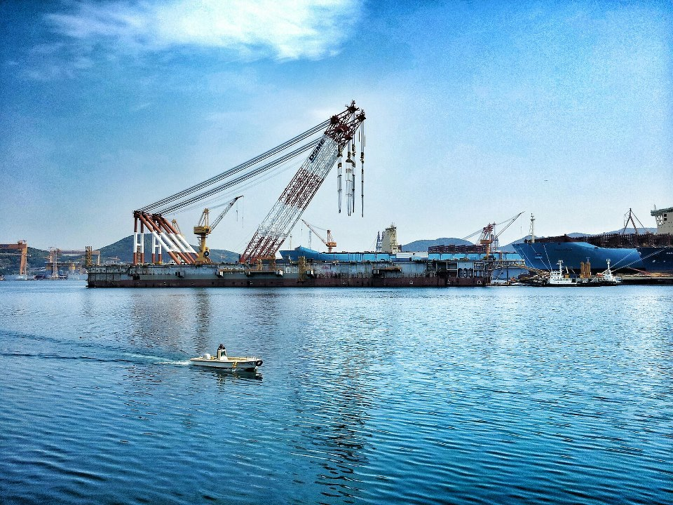 DSME Shipyard- Okpo, Geoje Island, South Korea