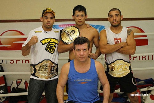Nova União's elite savages showing off their bling.