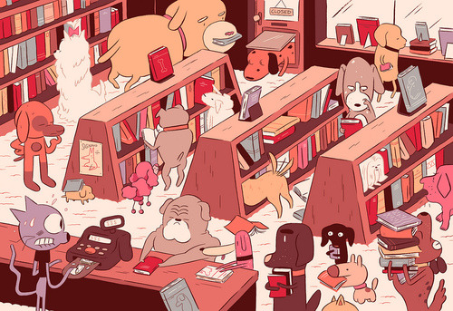 The Curious Incidence of Dogs in Publishing[via]