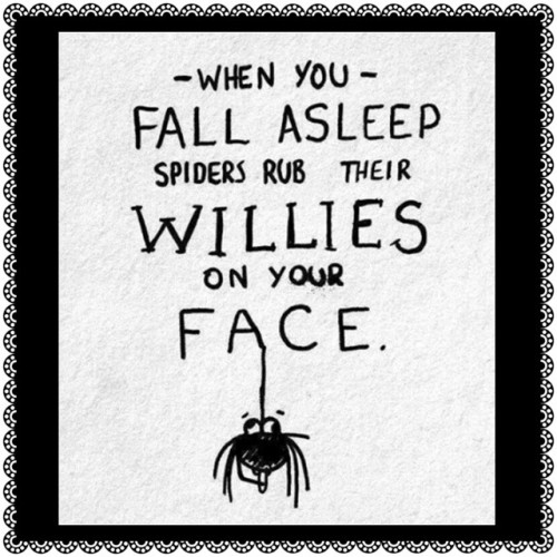 naepier:  Just gonna leave this here ♡ #cantsleepspiderswillturkeyslapme #bitofahairysituation ♡