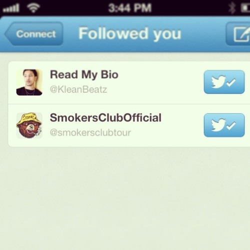 It's Official! #SmokersClub, What Club Are You In?