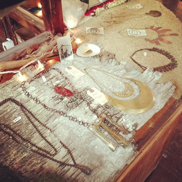 Necklaces (at Moon and Arrow home of territory hard goods)