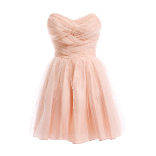 scenethreads:  Dress   ❤ liked on Polyvore (see more peach dresses)