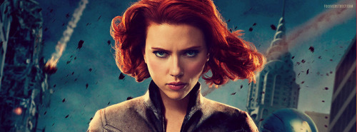 The Avengers Black Widow Facebook Cover