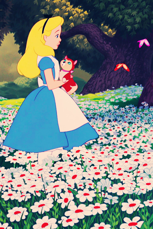 vintagegal:  Disney's Alice in Wonderland (1951)