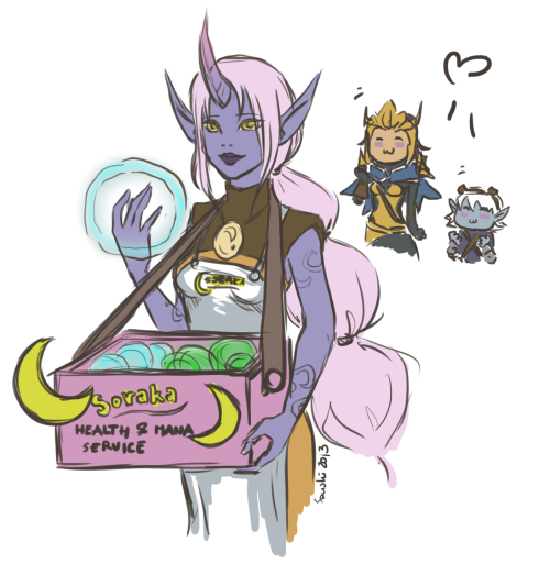 ciach-ciarach-ciach:  Soraka is one of my most favourite supports :D