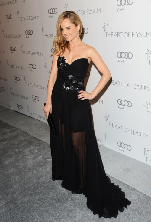 Mena Suvari - The Art of Elysium's 6th Annual HEAVEN Gala in LA 01/12/13