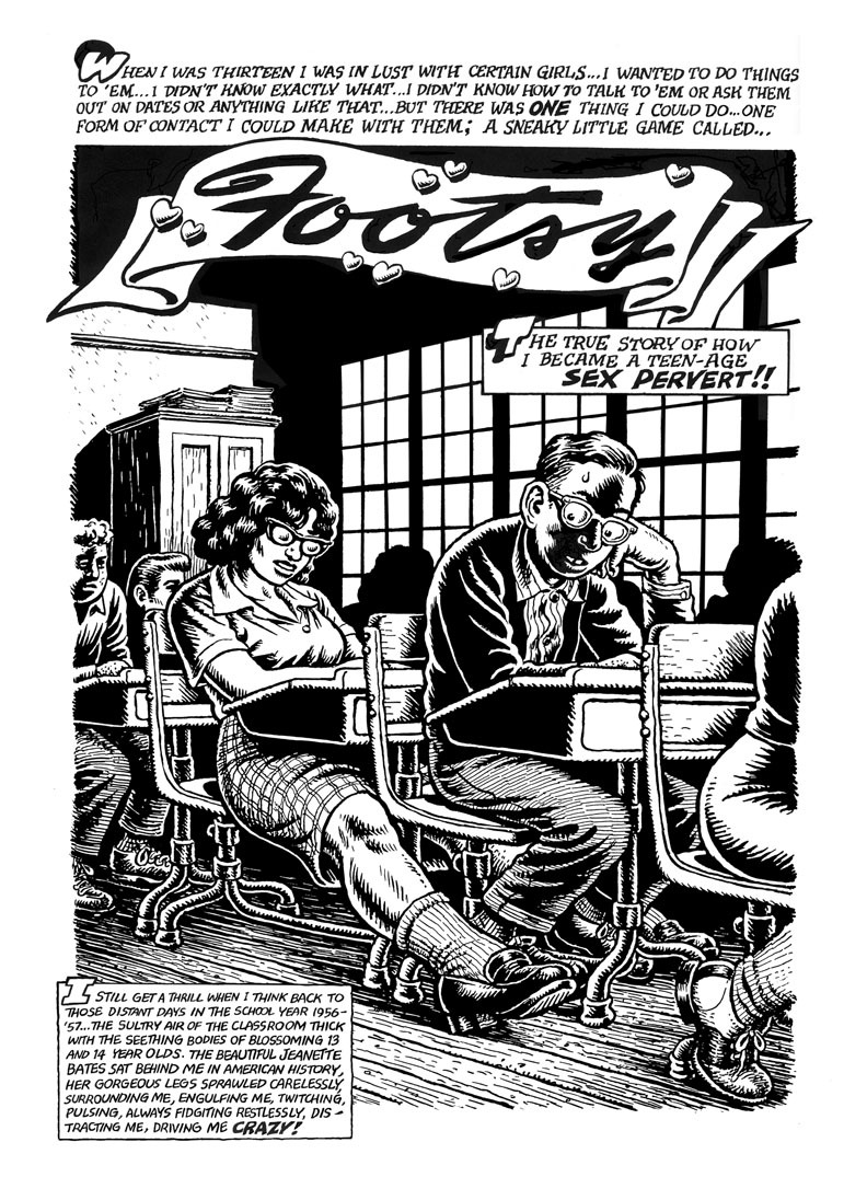 fantagraphics:  New R. Crumb print available from the R. Crumb website.