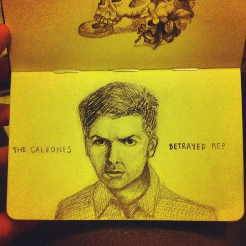 fuckyeahmoleskines:  ben wyatt is my spirit animal lizmology for daily sketches and art, thumbprints for my personal tumblr :)