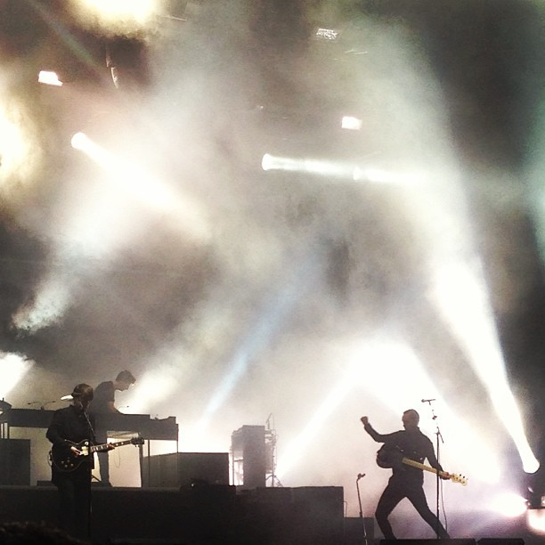 The XX in fine form as usual #Coachella (at Coachella Valley Music and Arts Festival)