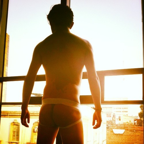 Saturday afternoon #jockstrap