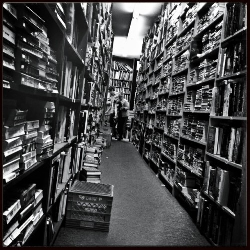 In the stacks…  at Royal Oak Books by Robert on EyeEm