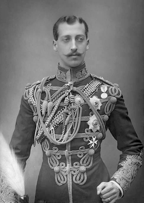 Prince Albert Victor, the Duke of Clarence and Avondale (1864-1892). Edward VII's oldest son, he was the dashingly handsome third in line to the throne for his entire life. His brother went on to be King George V, because Eddy (as the family called him) died tragically young in 1892, during an influenza epidemic. Chances are most of what you've heard about Eddy was a lie - especially the Jack the Ripper rumours. Probably the ones about him visiting the gay brothel are false as well (but tbh, if they're true I can add him to my 'hot bisexual royals' crush list, which is awesome). He also wasn't as stupid as his tutor told everyone he was. And of course, he was INCREDIBLY beautiful.