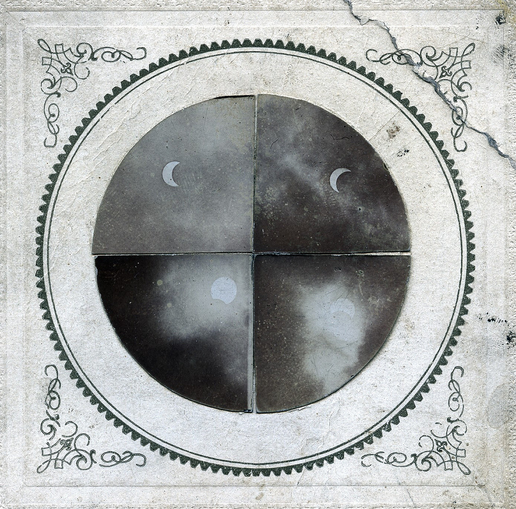 herebewitches:  E.W. & F.R. Lyon - Eclipse of the Sun, May 28,1900 (by The History of Photography Archive)