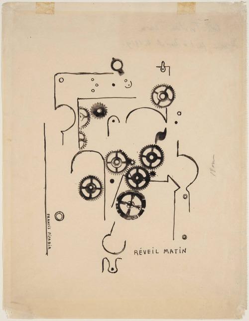 likeafieldmouse:  Francis Picabia - Alarm Clock (1919)