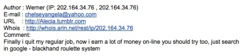 Great moments in spam.