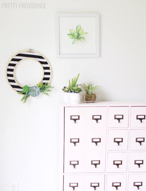 diycrafts diy crafts diy do it yourself how to modern succulent wreath projects crafts pretty providence plants