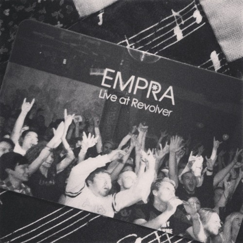 @empraonline new live ep that was recorded at @revolverupstairs is being launched this Friday at John curtin hotel on lygon st! Get your tix now before they sell out #music #empra #rock #rocknroll #melbourne #australia #rockmusic