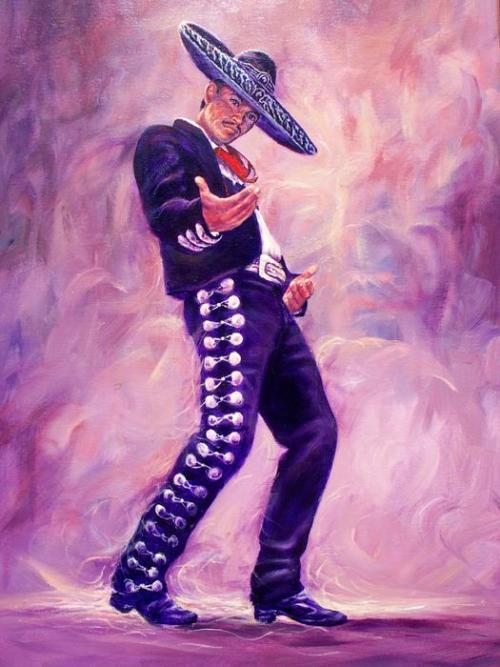 ilovemymariachilife:  Mariachi Painting by Ed Breeding