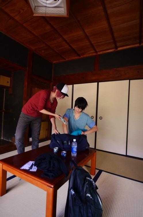 kiri7:  Rin Matsuoka: ksg Haruka Nanase: Kiri /Free! photo by Yuuki