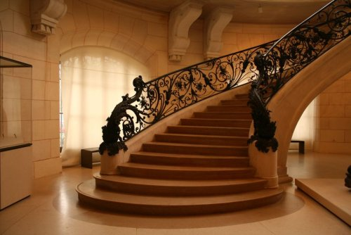 Grand Staircase, Paris, France photo via olong