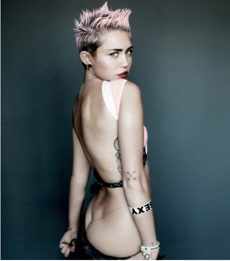 Miley Cyrus bares her butt, breasts, and soul in the latest issue of V magazine! Click the pic to see the rest of the photos!!! Wowza!!!!
