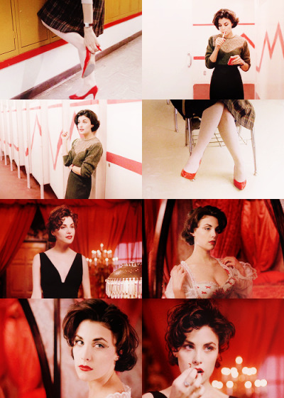 Audrey Horne - Red | Requested by deepbutdazzlingdarkness