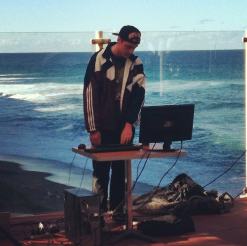 bad—energy:  played a tasty set today… beautiful view photo credit: nick santoro  https://soundcloud.com/badenergy