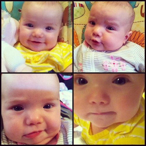 I'm always entertained by the variety of expressions my niece has.