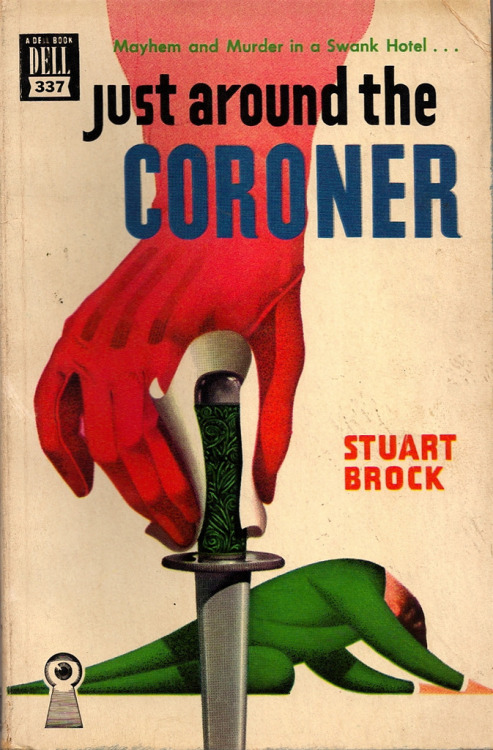 Great pun. Gerald Gregg cover painting.