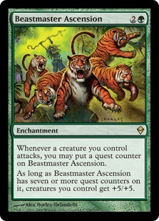 cardoftheday:  Beastmaster Ascension  FUCK THIS CARD. FUCK IT. FUCK IT. I DON'T THINK YOU REALLY REALIZE THE HATE I HAVE FOR THIS CARD.