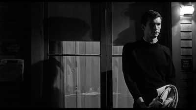 Anthony Perkins, Psycho (1960).