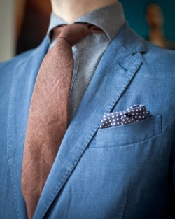 Take a page from the Italians and consider the knit dress shirt.