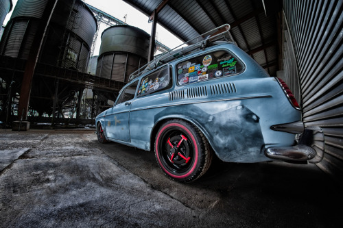 Survivor of the apocalypse Starring: Volkswagen Type 3 Variant (by Wutzman)