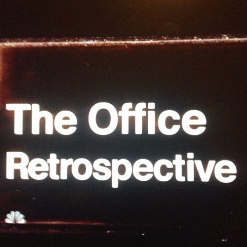 Things are about to get real emotional all up in here. #theoffice