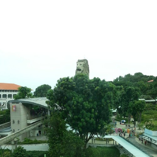 #Merlion watching over us @mianmian22  @shyenneism