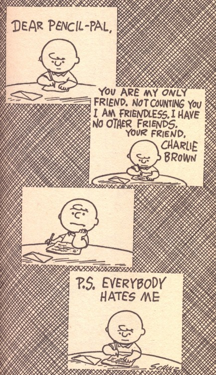 i am charlie brown.