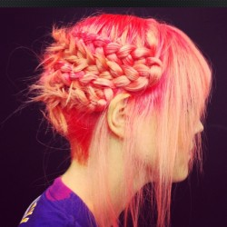 bleachlondon:  Coral braids by Roxy