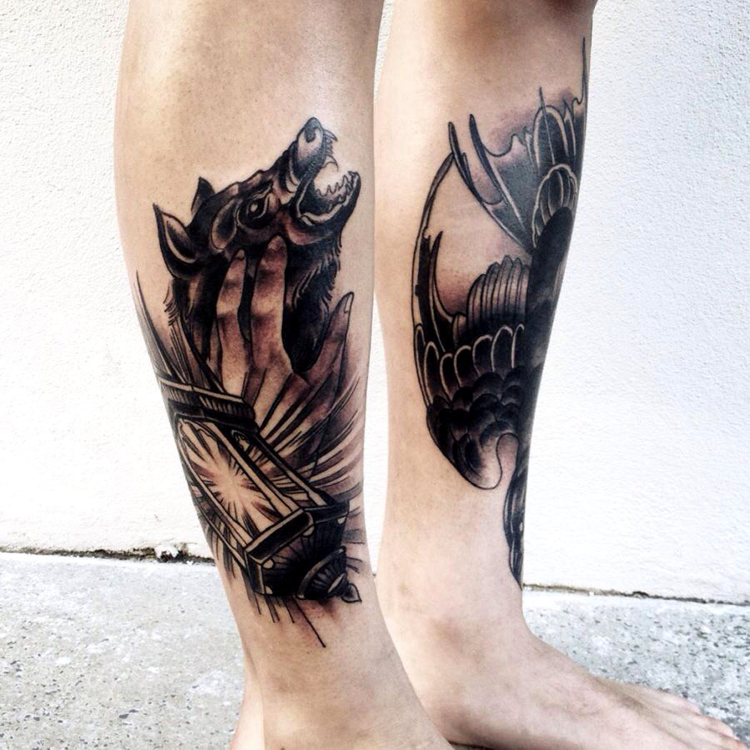 thievinggenius:  Tattoo done by Pari Corbitt.