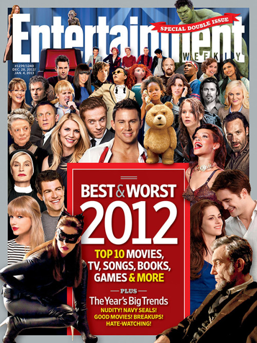 entertainmentweekly:  This week in EW: The best and worst of 2012, from the edgy genius of FX's Louie to the sugar-rush high of Carly Rae Jepsen's Call Me Maybe.