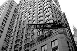 "LOUISE NEVELSON has a ""PLAZA"" in NYC and U DON'T!!!!…. :D"